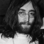 Byltingarsinninn John Lennon nokkrum áður eftir uppistandið í Bandaríkjunum