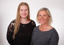 Mæðgurnar Fríða Hermannsdóttir og Hallfríður Eysteinsdóttir