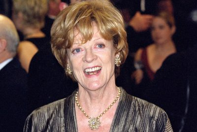 Maggie Smith áttræð