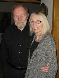 Hjónin Ásgeir og Stefanía