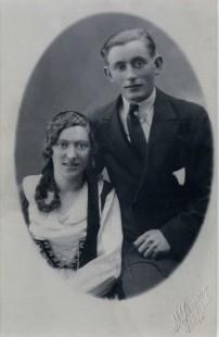 Foreldrar Jónu Valgerðar, Jóhanna Jakobsdóttir og Kristján S.Guðjónsson