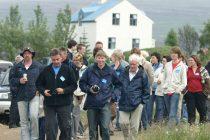Útilegufatnaður hátíðarbúningur ættarmótanna