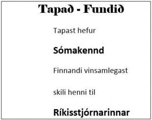 Auglýsing Auður