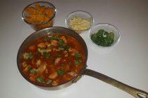Öðruvísi súpa með kjúklingi, fiski eða baunum