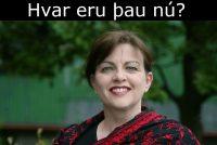 Súsanna Svavarsdóttir fyrrum gagnrýnandi
