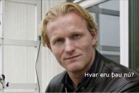 Þorfinnur Ómarsson fyrrum sjónvarpsmaður