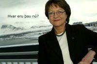Erna Hauksdóttir fyrrverandi framkvæmdastjóri