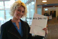 Ólöf Rún fyrrverandi fréttamaður