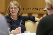 Ingibjörg Pálmadóttir fyrrverandi ráðherra og þingmaður