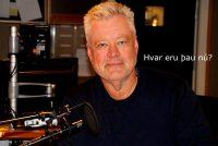 Stefán Jón Hafstein fyrrverandi útvarpsmaður með meiru