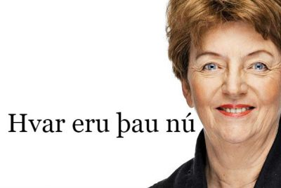 Sigrún Magnúsdóttir fyrrverandi ráðherra