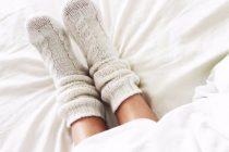 Stórar peysur, hlýir sokkar og leggings