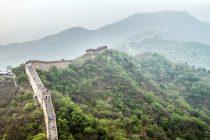 Undirbúa línudanskeppni á Kínamúrnum
