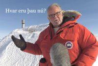 Gísli Sigurgeirsson fréttamaður
