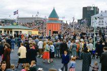 Þjóðhátíðardagurinn 17.júní árið 1955
