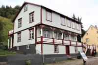 Fallegt hús í innbænum á Akureyri