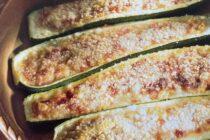 Kúrbítur með parmesanosti